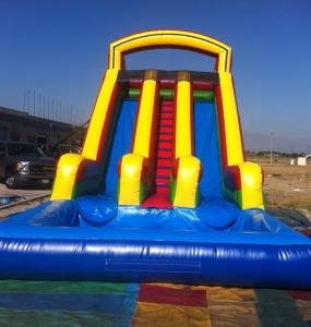 big double water slide - Water Slide Bounce House